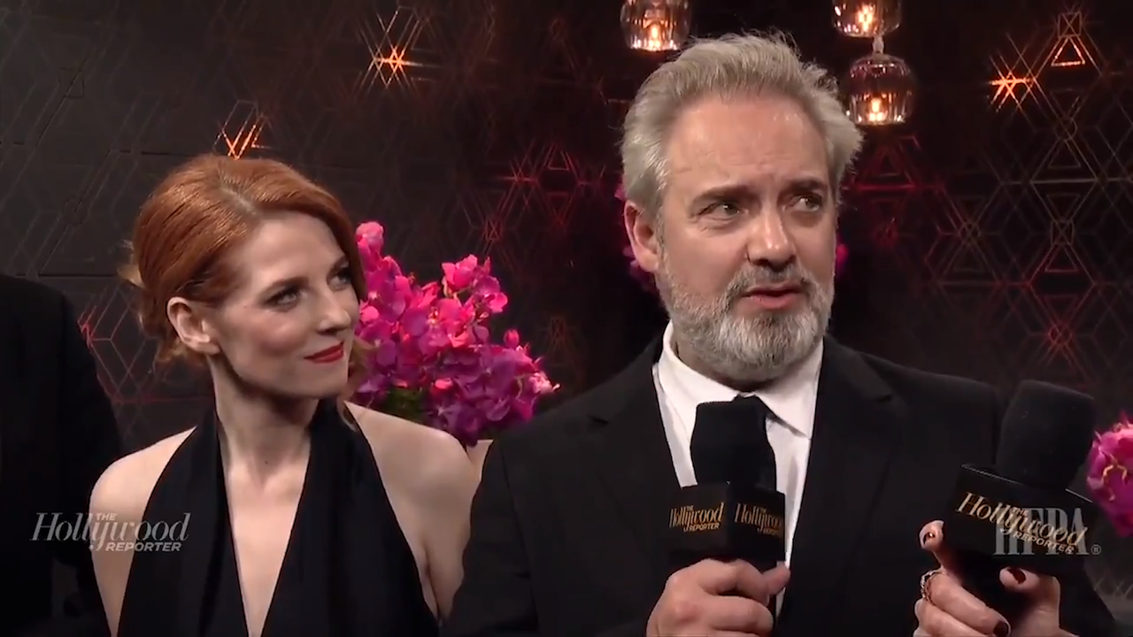 Director Sam Mendes and '1917' Cast on the Golden Globes 2020 After Show