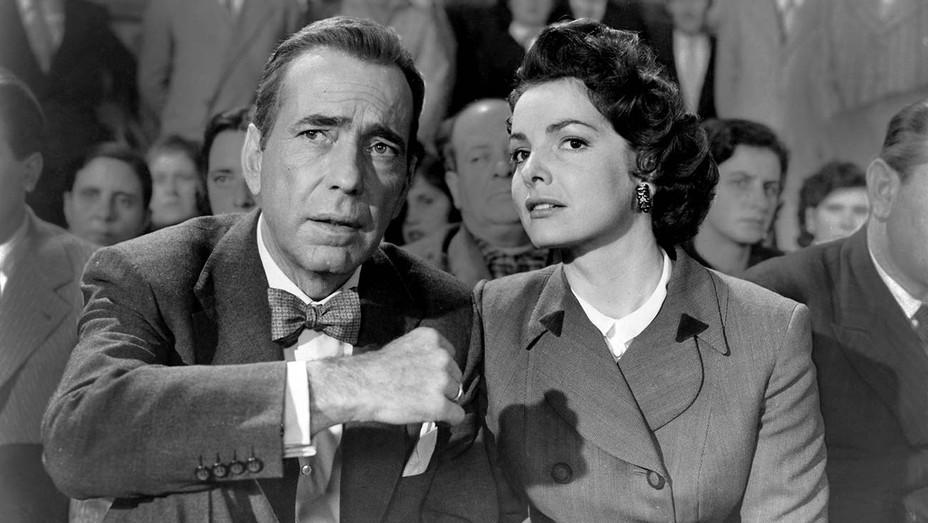 The Barefoot Contessa (1954) -Humphrey Bogart, Elizabeth Sellars - Photofest -H 2019
