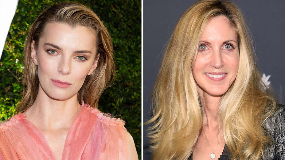 Betty Gilpin and Ann Coulter - Split-Getty-H 2020