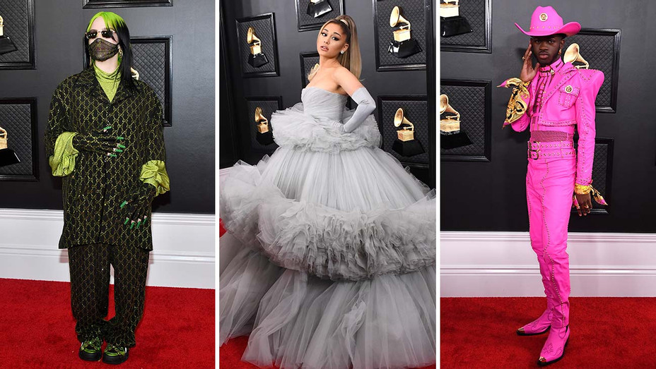 top 12 fashion looks that rocked the grammys red carpet hollywood reporter grammys red carpet