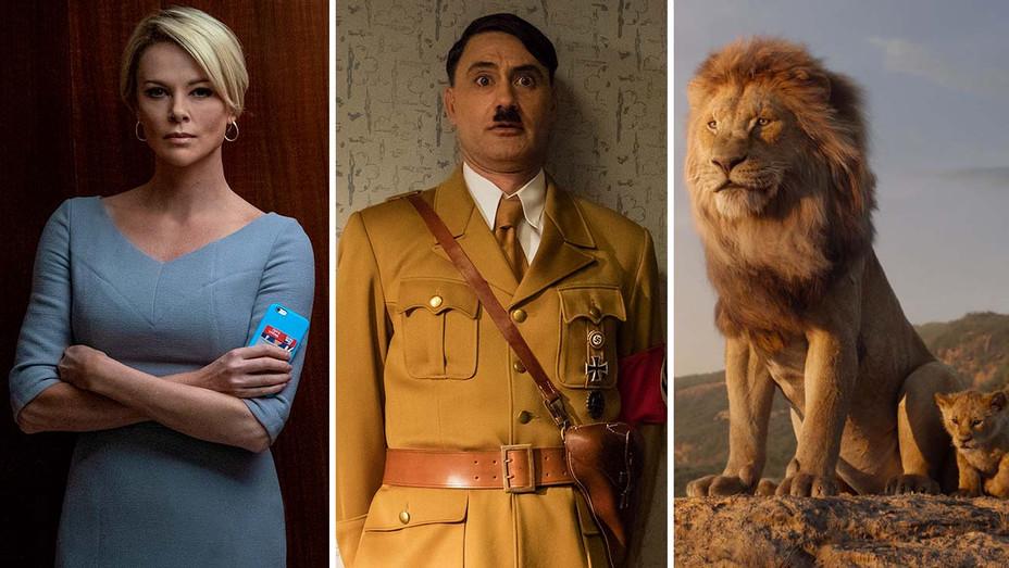 Bombshell - Jojo Rabbit - The Lion King - Publicity Stills - Split - H 2020