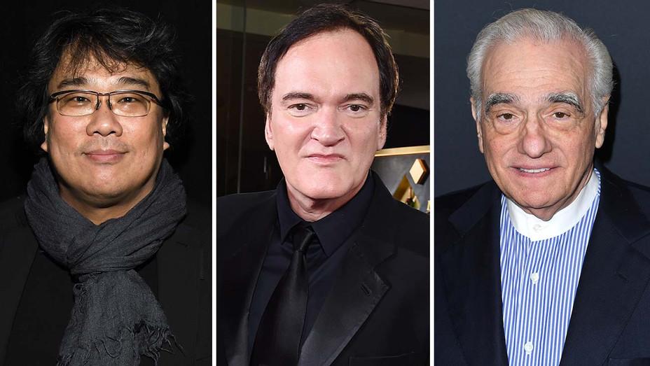 Bong Joon Ho, Quentin Tarantino and Martin Scorsese- Split-H 2020