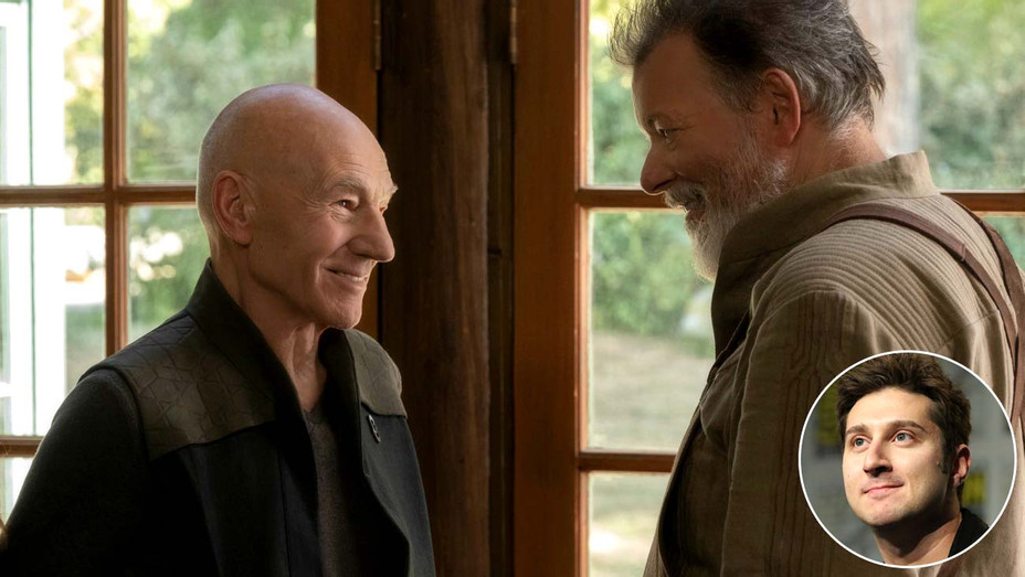 CBS All Access' Star Trek Picard  - Terry Matalas Inset - Publicity - H 2020