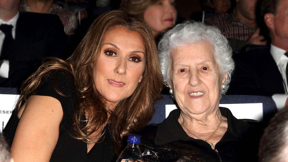 Celine Dion and Therese Tanguay Dion - Getty - H 2020