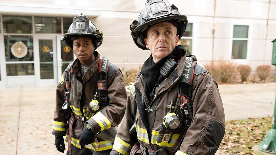 "CHICAGO FIRE - ""Then Nick Porter Happened"" Episode 812 - Daniel Kyri - David Eigenberg- Getty-H 2020"