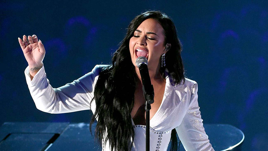 Demi Lovato performs onstage during the 62nd Annual GRAMMY Awards  - Getty - H 2020