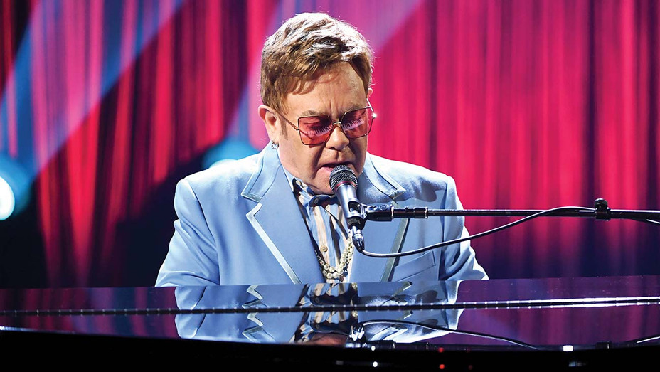 Elton John performs live on stage at iHeartRadio ICONS - Getty - H 2020