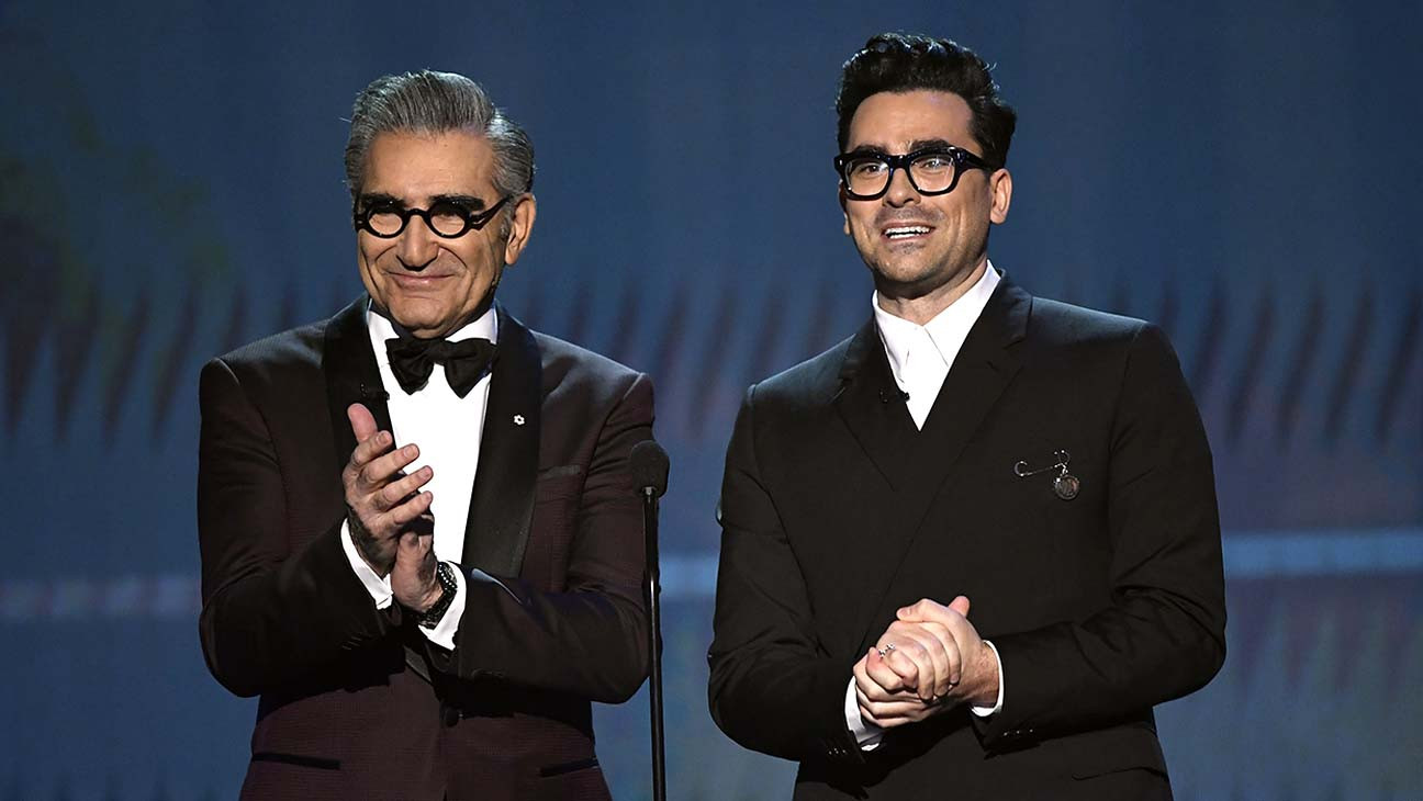 Eugene Levy and Dan Levy Open SAG Awards 2020