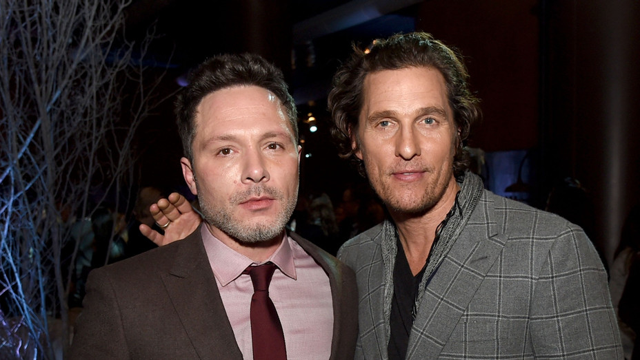 Nic Pizzolatto and Matthew McConaughey - Getty - H 2020