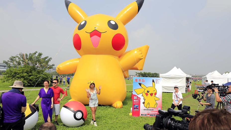 Opening day of the Pokemon Go Safari Zone- Taipei Metropolitan Park in New Taipei City on October 3, 2019 - Getty-H 2020