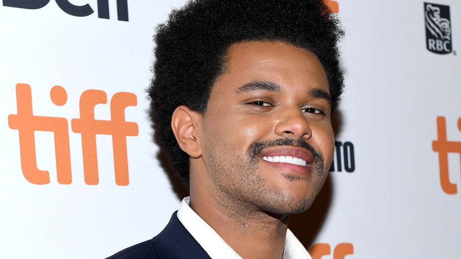 """The Weeknd attends the """"Uncut Gems""""premiere during the 2019 Toronto International Film Festival - Getty-H 2020"""