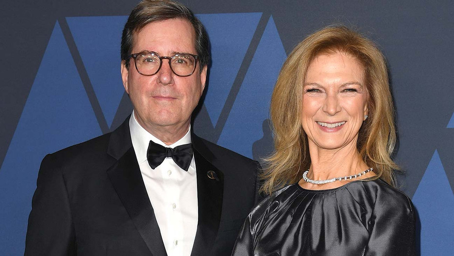 Academy of Motion Picture Arts and Sciences President David Rubin and Dawn Hudson - Getty-H 2020