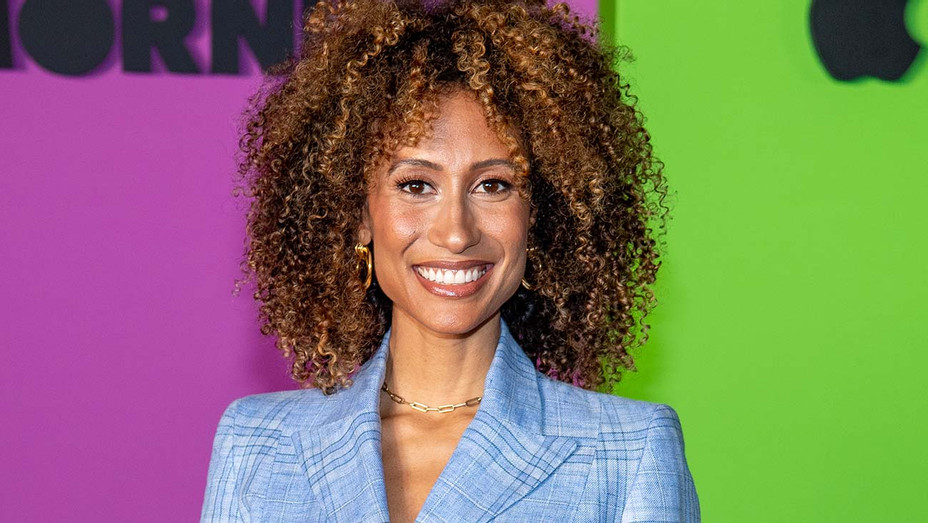 """Elaine Welteroth attends Apple TV+'s """"The Morning Show"""" world premiere - Getty-H 2020"""