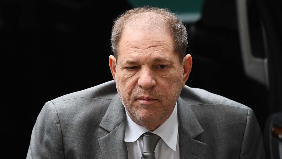 Harvey Weinstein leaves the courtroom in New York City criminal court on January 7, 2020 -Getty 3- H 2020