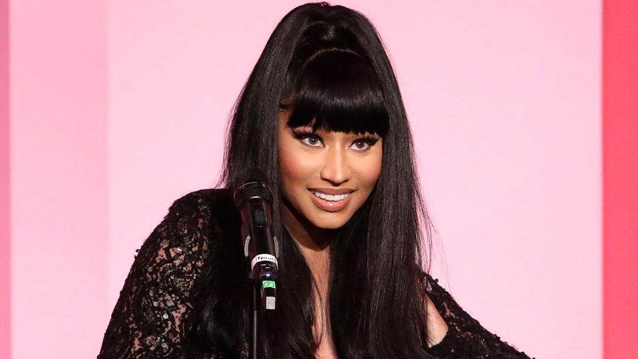 Nicki Minaj accepts the Gamechanger Award onstage during Billboard Women In Music 2019- Getty-H 2020