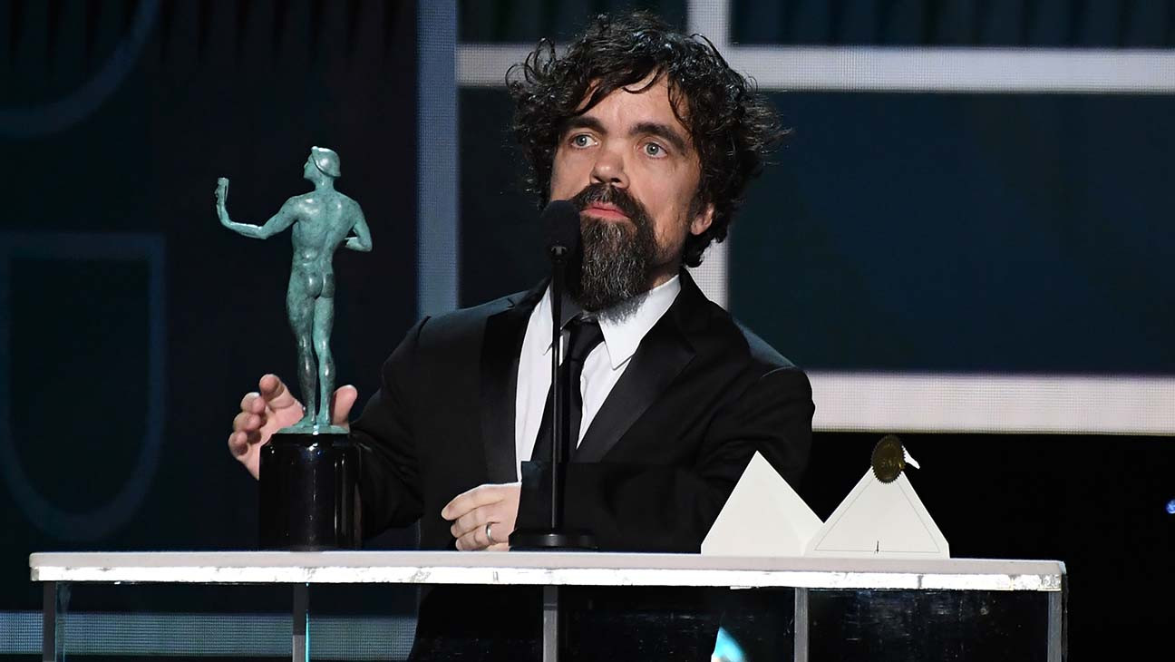 Peter Dinklage Wins SAG Award for 'Game of Thrones' | SAG 2020