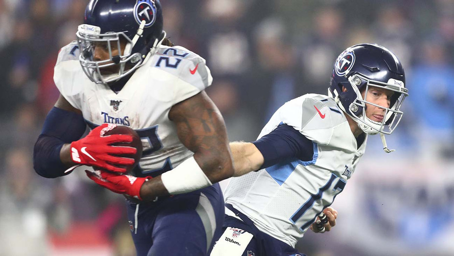 Tennessee Titans New England Patriots AFC Wild Card Playoff - Getty - H 2020