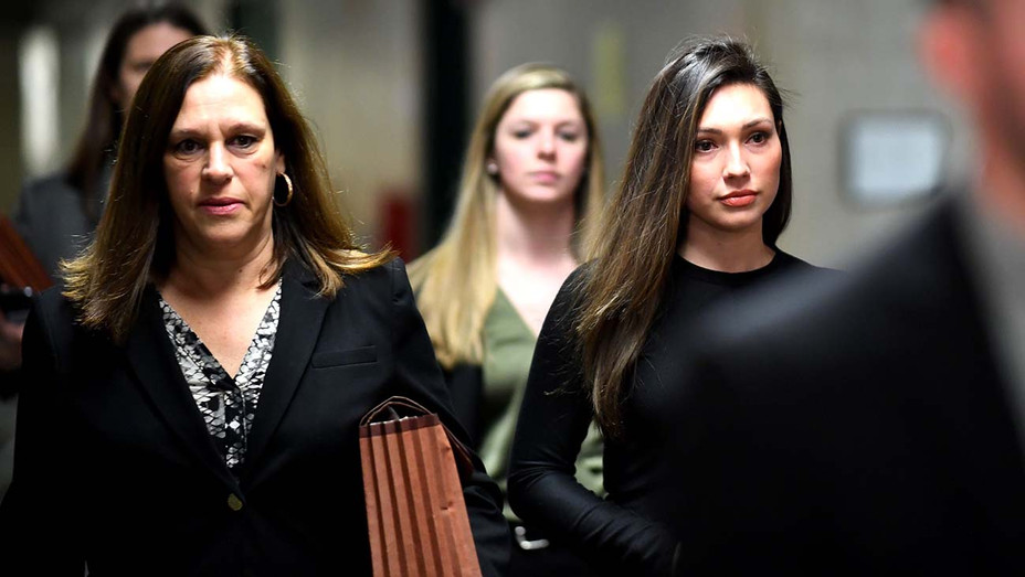 Jessica Mann arrives for the trial of Harvey Weinstein at the Manhattan Criminal Court, on January 31, 2020 -Getty 2-H 2020