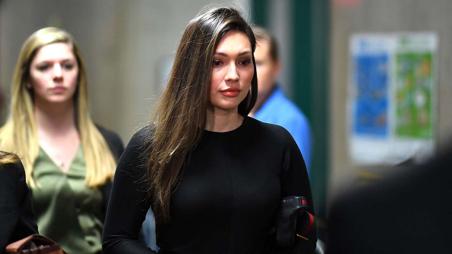 Jessica Mann arrives for the trial of Harvey Weinstein at the Manhattan Criminal Court, on January 31, 2020 -Getty 3-H 2020