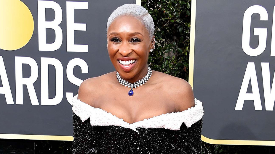 Cynthia Erivo attends the 77th Annual Golden Globe Awards - Necklace- Getty-H 2019