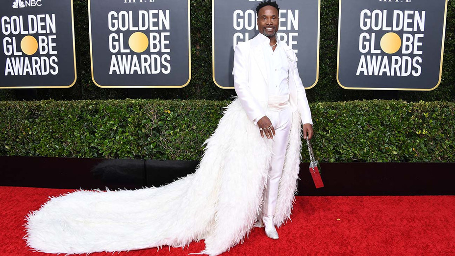 Billy Porter attends the 77th Annual Golden Globe Awards - Red Carpet - H 2019
