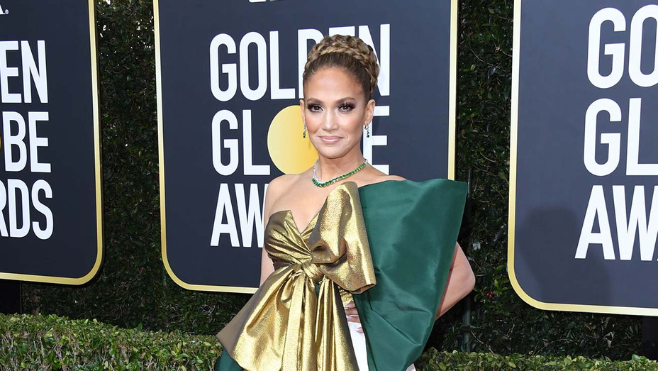 Jennifer Lopez attends the 77th Annual Golden Globe Awards -Getty- H 2019