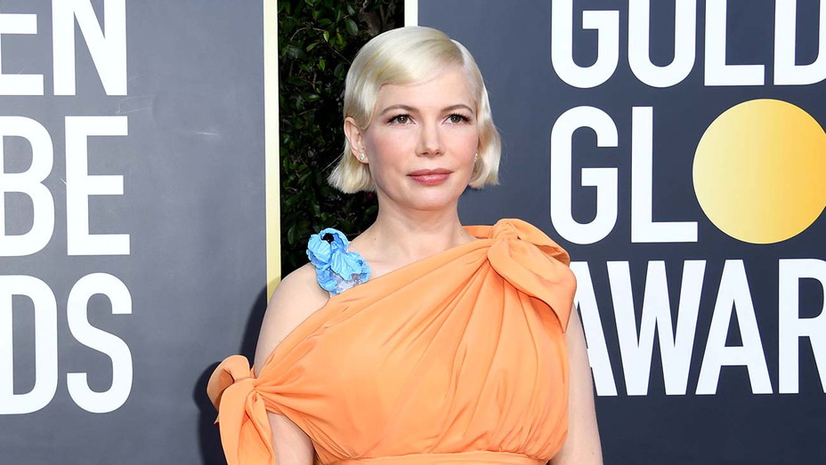 Michelle Williams attends the 77th Annual Golden Globe Awards - Getty-H 2019
