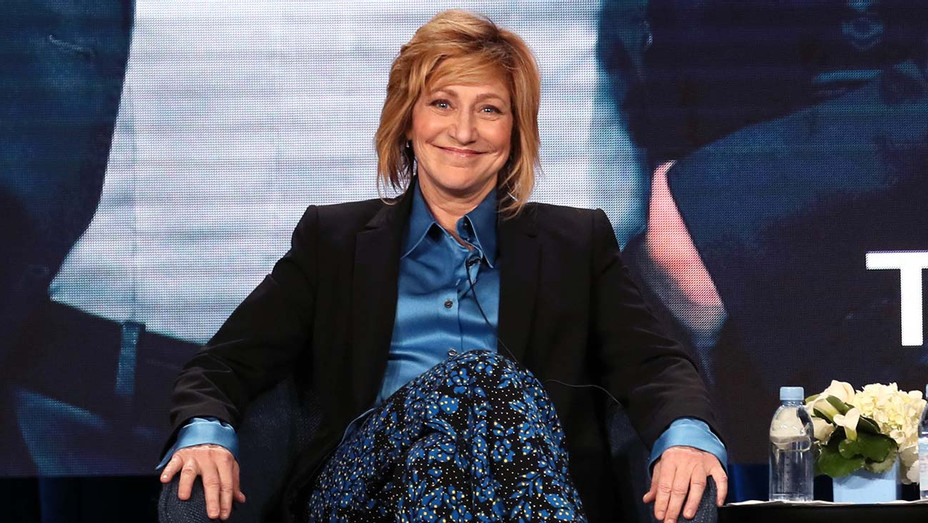 "Edie Falco of ""Tommy"" speak during the CBS segment of the 2020 Winter TCA Press Tour - Publicity-H 2020"