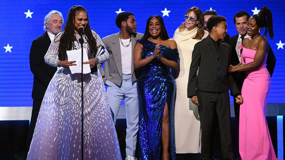 Ava DuVernay and fellow cast and crew of 'When They See Us' accept the Best Limited Series award - H 2020