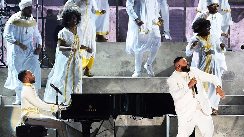 Nipsy Hussle Tribute Grammy Awards - Getty - H 2020