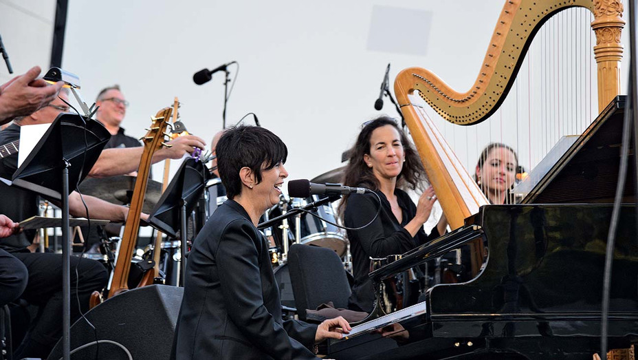 ONE TIME USE ONLY -Diane Warren performs at Women Who Score event - Getty-H 2020
