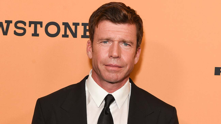 "Taylor Sheridan attends the premiere of Paramount Pictures' ""Yellowstone"" - Getty-H 2020"