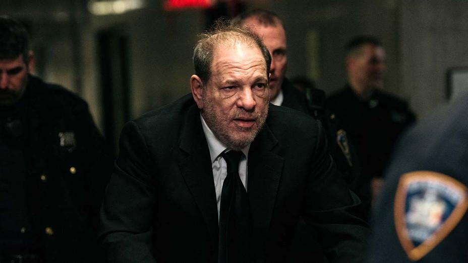 Harvey Weinstein enters New York City Criminal Court January 16 2020 - Getty - H 2020