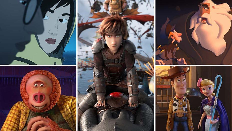 Oscars  - Animated Feature Film - 5 Split-Publicity - H 2020