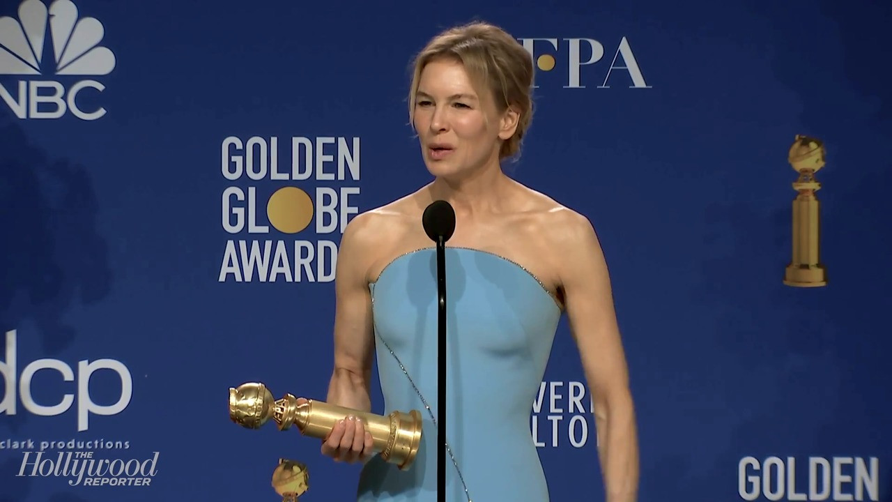 Rene?e Zellweger Talks Best Actress Win for 'Judy' | Golden Globes 2020