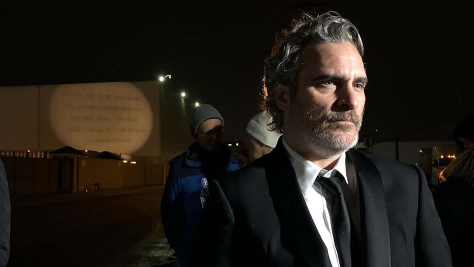 Joaquin Phoenix -  straight from SAG awards to animal rights vigil - Publicity-H 2020