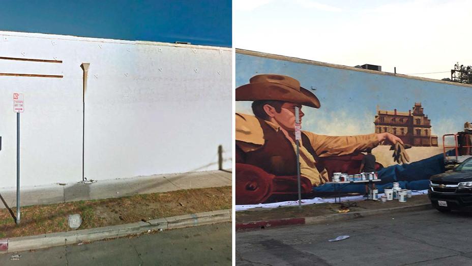 James Dean mural - Publicity - Split - H 2019