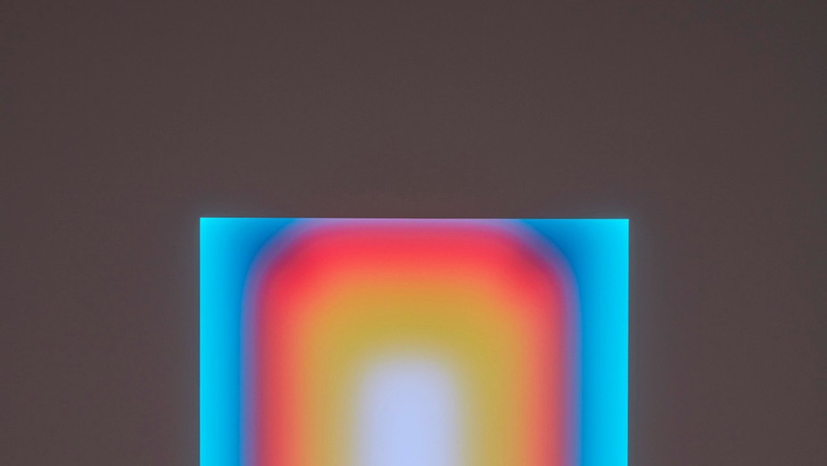 """James Turrell's """"Law of One, Medium Rectangle Glass"""" - Publicity - P 2020"""