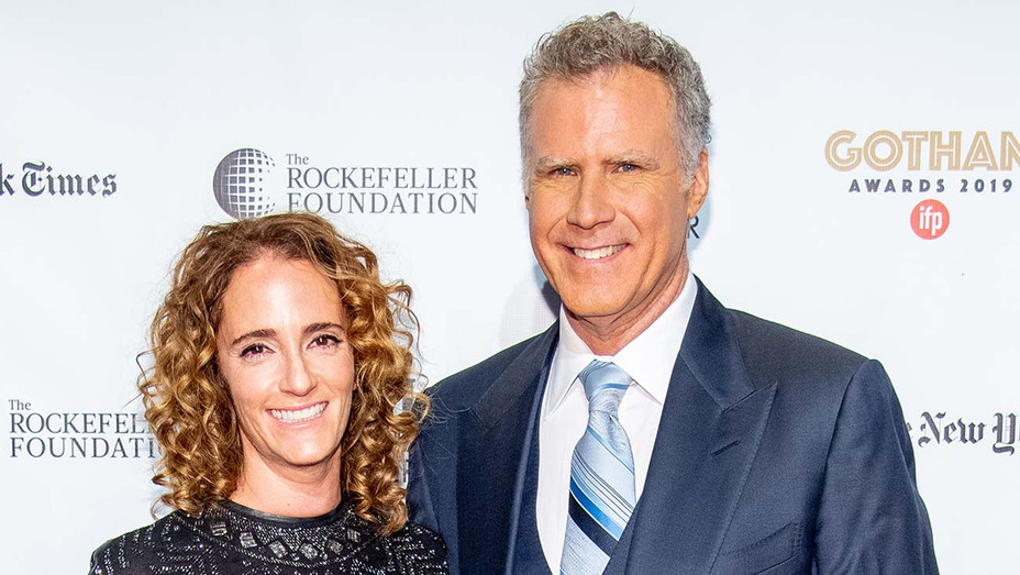 Jessica Elbaum and Will Ferrell - Getty - H 2020