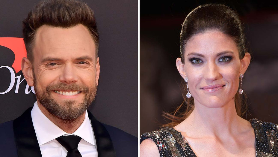 Joel McHale and Jennifer Carpenter -Split-Getty-H 2020