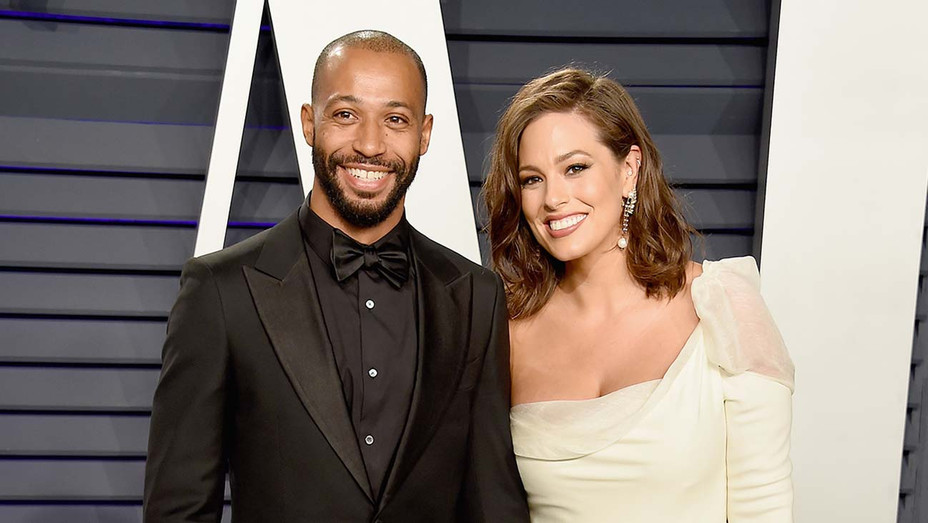 Justin Ervin and Ashley Graham  - Getty - H 2020