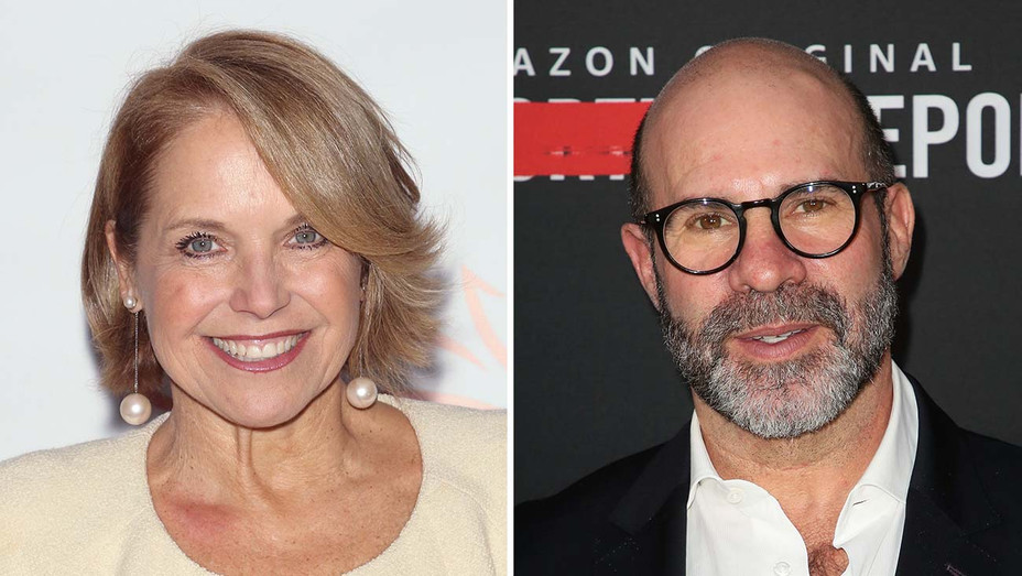 Katie Couric and Scott Z. Burns_Split - Getty - H 2020