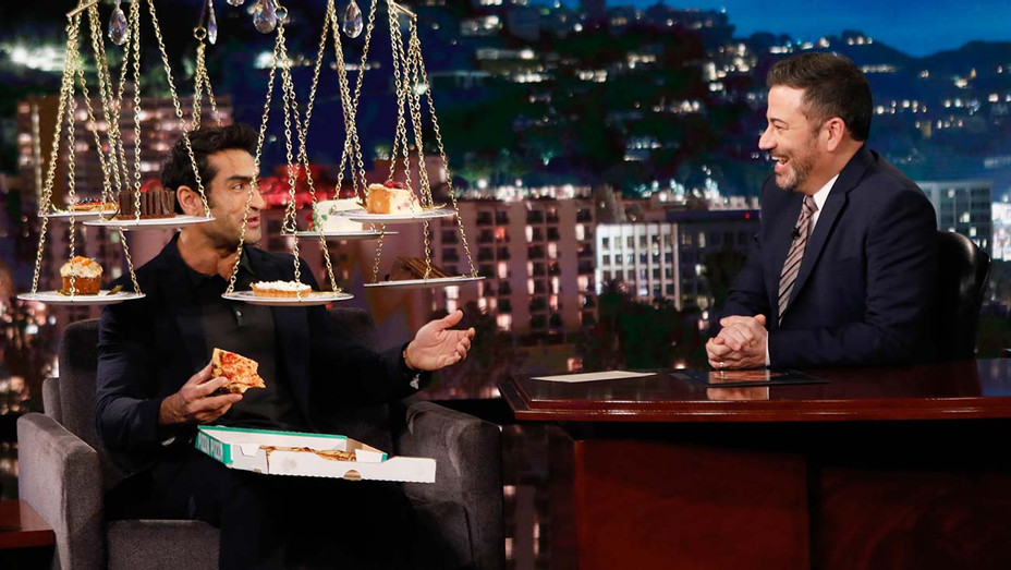 Kumail Nanjiani on 'Kimmel' — Jan. 23, 2020 — Publicity — H 2020