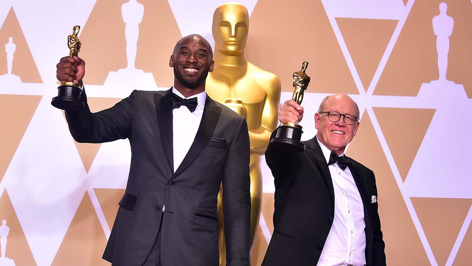 Kobe Bryant and Glen Keane - Getty - H 2020