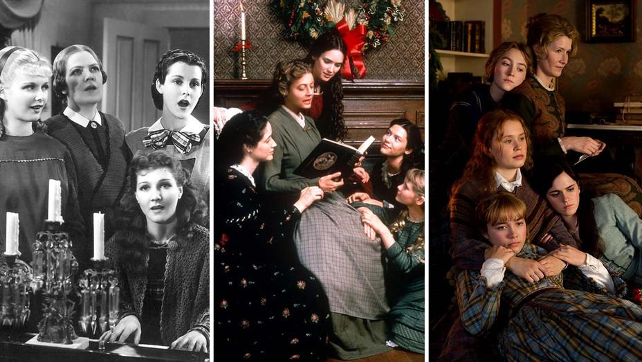 Little Women 1933, 1994 and 2019 - Photofest - Publicity Stills - Split - H 2020