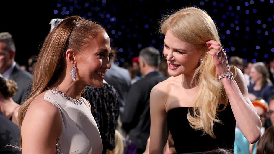 Jennifer Lopez and Nicole Kidman - Critics' Choice Awards - H Getty 2010