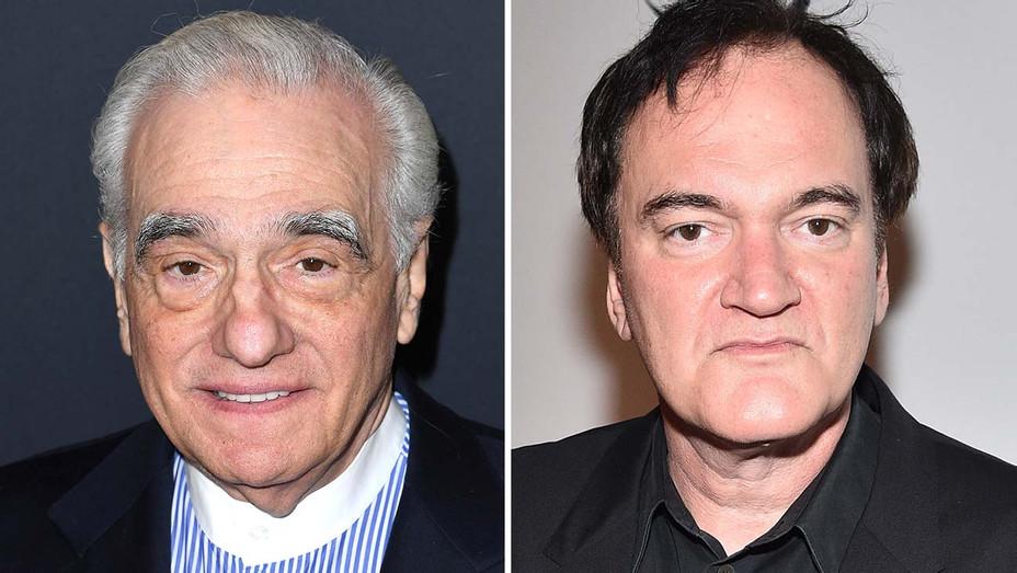 Martin Scorsese and Quentin Tarantino - Split-Getty-H 2019