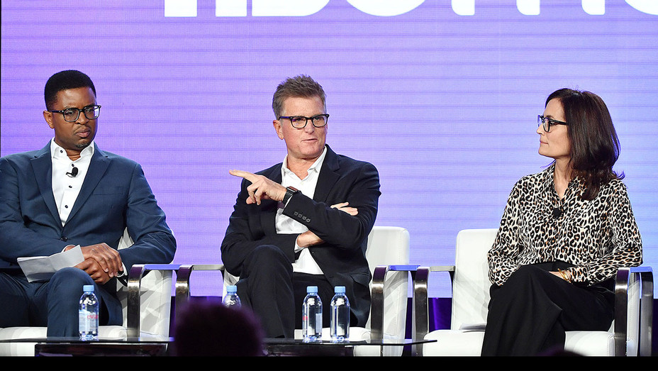 Michael Quigley, Kevin Reilly and Sarah Aubrey_TCAs - Getty - H 2020