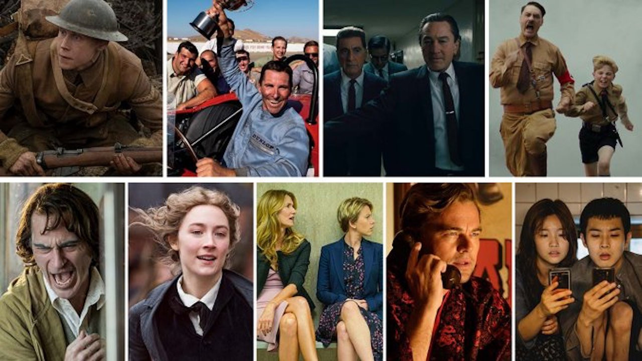 Películas nominadas a los Oscars 2020