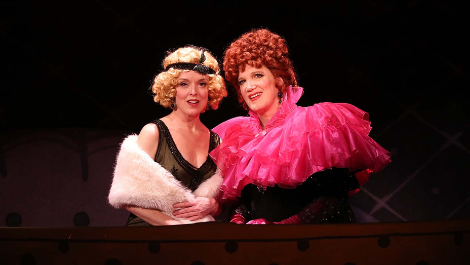 Nancy Anderson & Charles Busch in THE CONFESSION OF LILY DARE - Publicity - H 2020